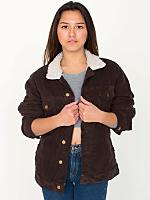 Unisex Corduroy Sherpa Jacket