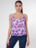 Floral Chiffon Camisole
