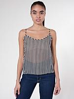 Stripe Chiffon Camisole