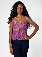 Printed Silk Camisole