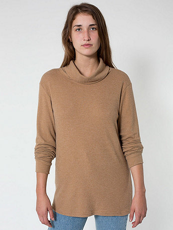 Unisex Slouch Turtleneck