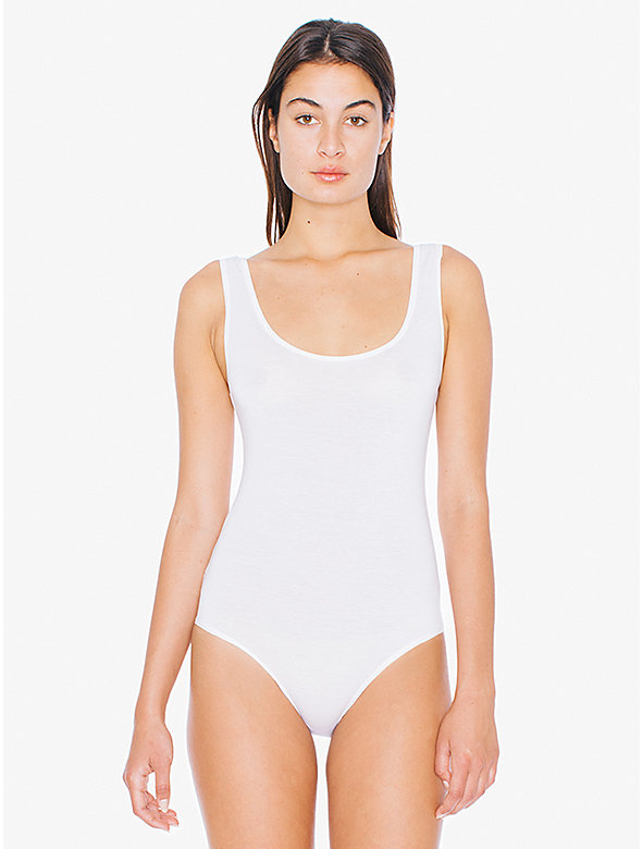 Compact Jersey Intimate Tank Bodysuit