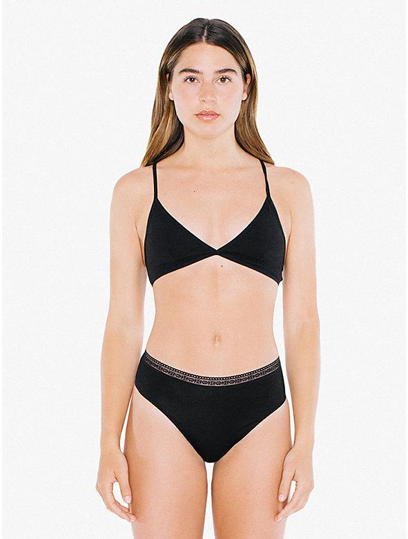 Compact Jersey High-Waist Thong