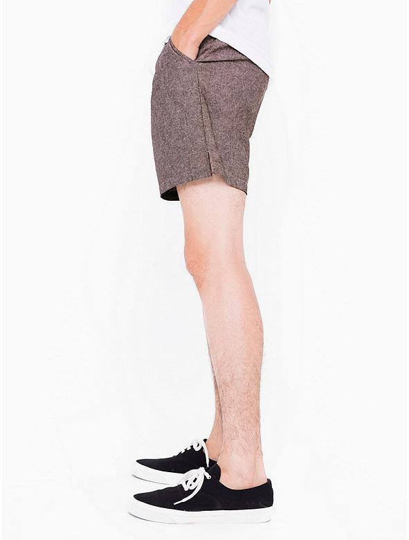 Chambray Welt Pocket Short