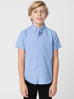 Youth Short Sleeve Button-Down
