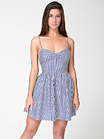 Stripe Tie Back Dress