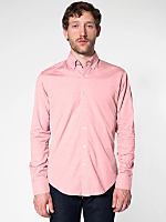 Pinpoint Oxford Long Sleeve Button-Down