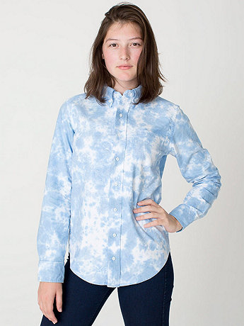 Unisex Cloudy Oxford