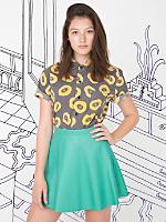 Nathalie Du Pasquier Unisex Black Biba Print Short Sleeve Casual Shirt