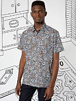 Nathalie Du Pasquier Kouki Print Short Sleeve Casual Shirt