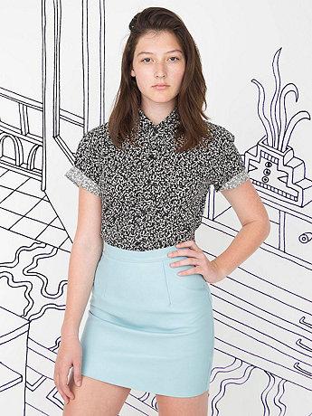 Nathalie Du Pasquier Unisex Winie Print Short Sleeve Casual Shirt