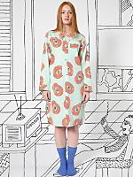 Nathalie Du Pasquier Unisex Mint Biba Print Pajama Gown