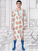 Nathalie Du Pasquier Mint Biba Print Pajama Gown