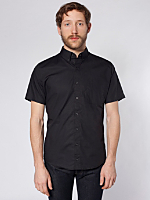 Rigo Cotton Short Sleeve Button-Down with Pocket