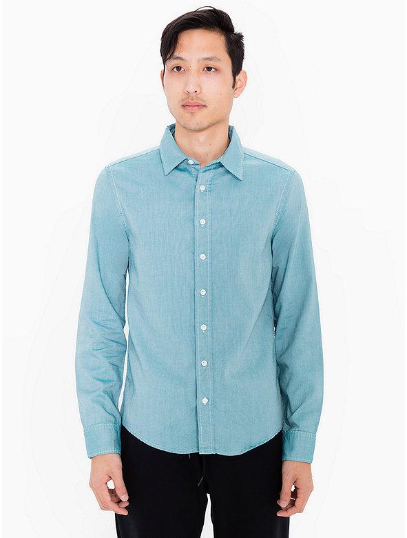 Slim Fit Oxford Shirt American Apparel