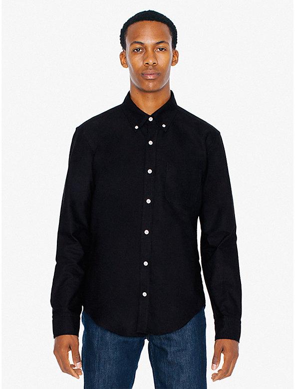 Stone Wash Slim Fit Oxford Shirt