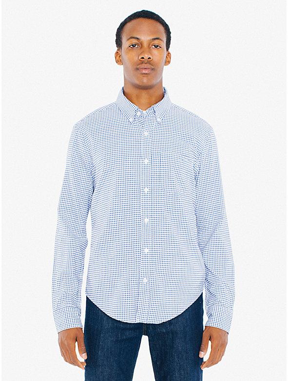 Peached Cotton Slim Fit Shirt