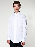 Poplin Long Sleeve Button-Down