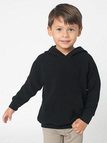 Kids Ottoman Rib Pullover Hoody