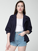 Cotton Ottoman Rib Jacket