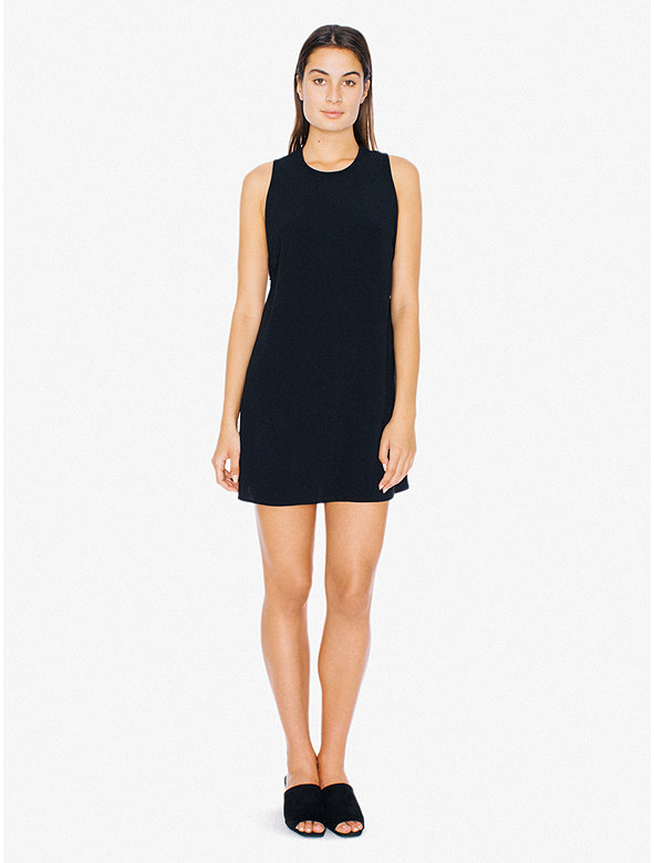 3871a356392 Turmec » sleeveless little black dress with cut out back