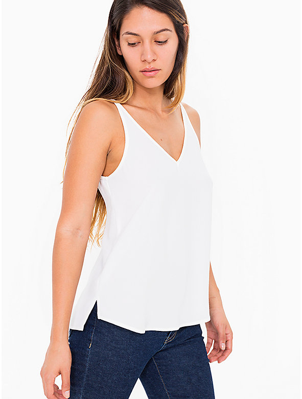 V Neck Strappy Cami