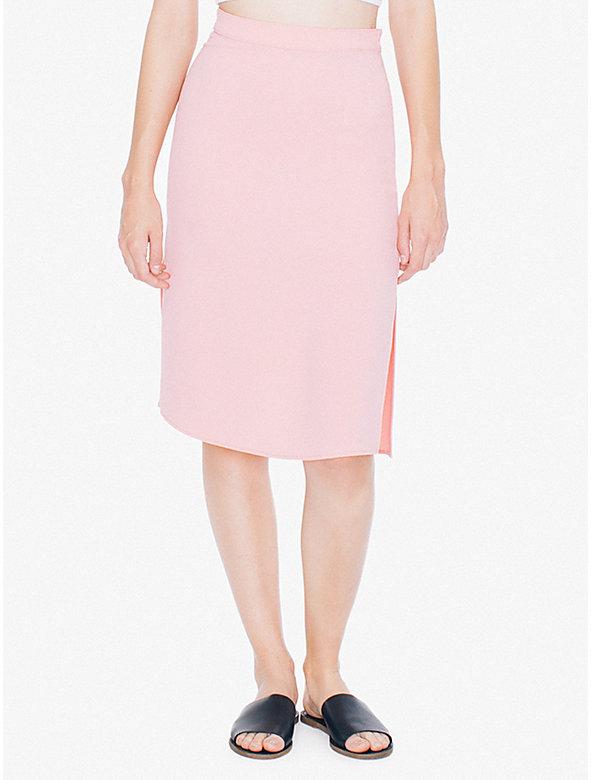 Crepe 2 Slit Skirt