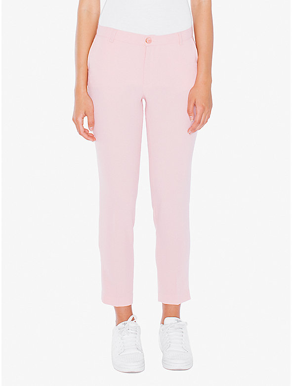Crepe Cropped Trouser