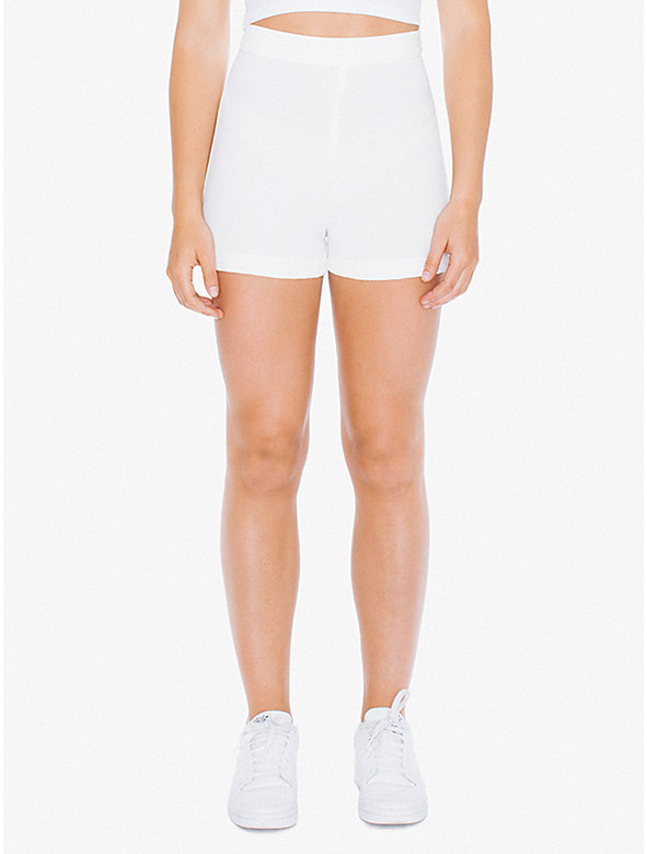 Crepe Side Button Short