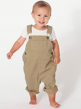 Infant Stretch Twill Over-All Pant