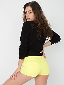 Stretch Twill Short Short
