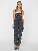 Acid Wash Stretch Twill Overall