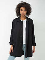 Unisex Cotton Twill Car Coat