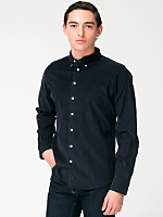 Corduroy Long Sleeve Button-Down