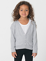 Kids Solid Rib Cardigan