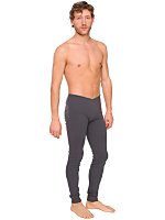 Men's Solid Rib Long Underwear