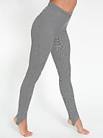 Pinstripe Jersey Stirrup Legging
