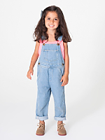Kids Denim Over-All Pant