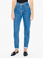 Dark Wash High-Waist Jean