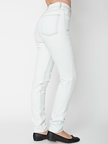 Light Wash High-Waist Jean