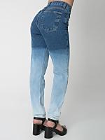 Ombre High-Waist Jean