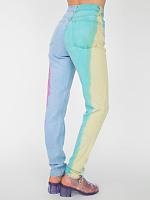 Rainbow High-Waist Jean