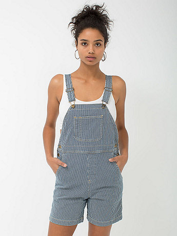 Striped Denim Short-All