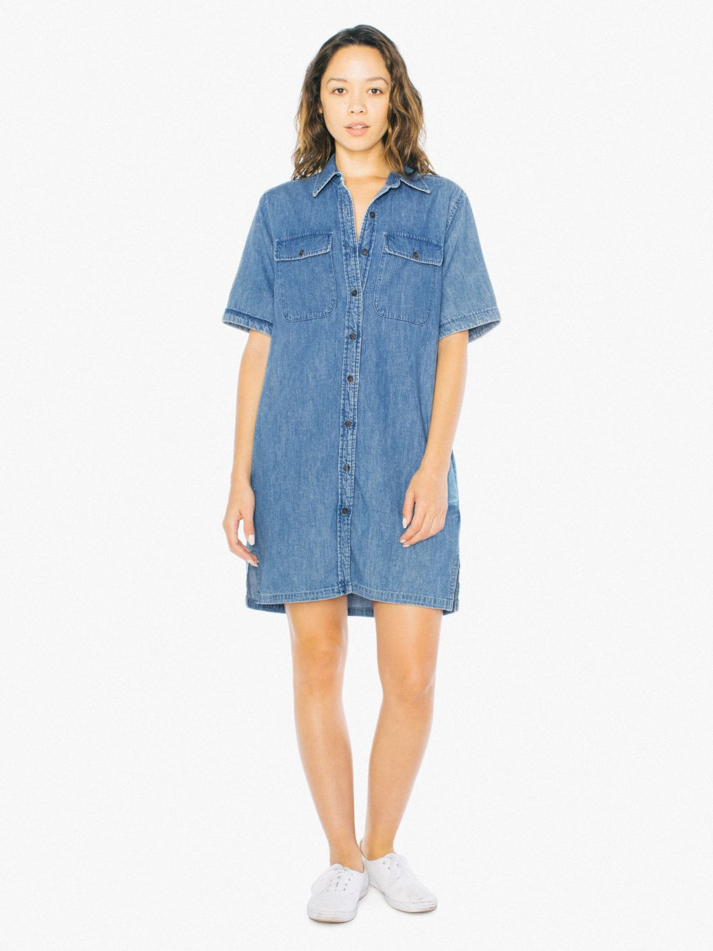 Denim Tyler Dress | Tuggl