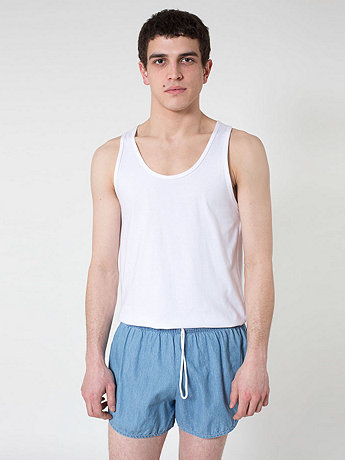 Dark Wash Denim Leisure Short