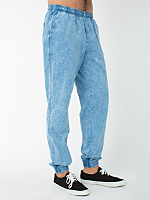 Acid Wash Denim Billionaire Pant