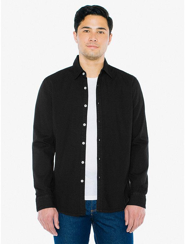 Denim Long Sleeve Shirt