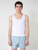 Light Wash Denim Leisure Short