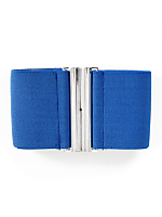 Wide Elastic Clasp Belt