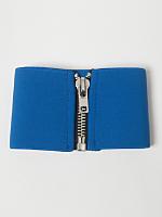 Wide Elastic Zipper Belt